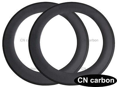 20.5,23,25m U Shape 88mm Depth Clincher carbon road bicycle rim