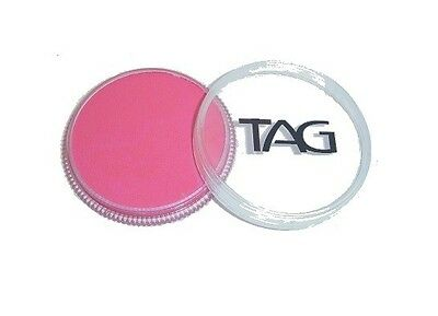 TAG Body Art 32g Pot Regular Pink Professional Face and Body Paint - Make up