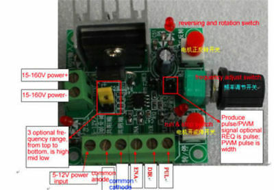 Stepper motor Pulse Signal Generator module/driver controller/Speed Regulator