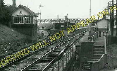 Harecastle Railway Station Photo NSR. Chatterley to Lawton and Mow Cop 4
