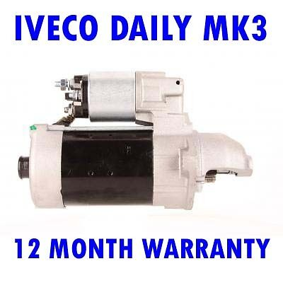 Iveco daily mk3 mk III 1999 2000 2001 2002 2003 2004 - 2015 starter motor