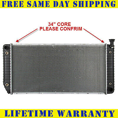 Radiator For Chevy GM Fits Yukon Suburban Escalade Tahoe Pickup 5.0 5.7 1522V
