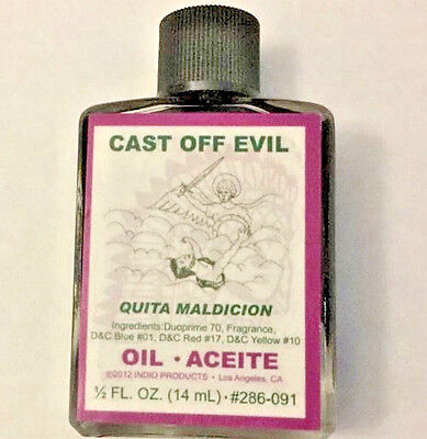 Cast Off Evil Oil, INDIO 1/2oz, 14 ml, Anointing, Aromatherapy Free Shipping
