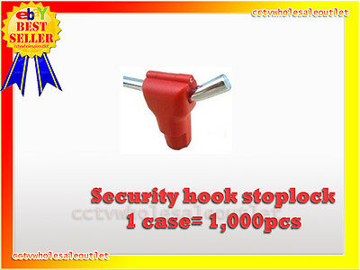 Security Stop Lock Hard Tag 1000 Pcs Checkpoint® Compatible 8.2Mhz