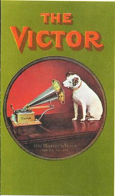 The Victor  - Advertisement & Information - Reprint Of 1903 Original
