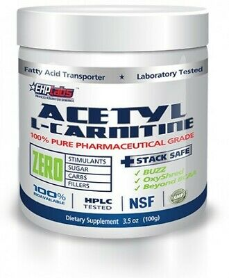Acetyl L- Carnitine 100gm by EHP Labs