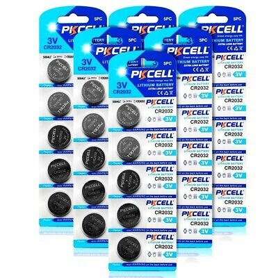 30x CR2032 3V LM2032 Lithium Batteries Button Coin Cell Battery DL2032 ECR2032