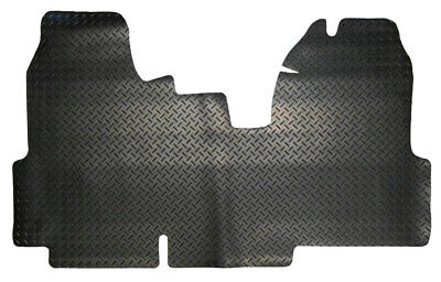 Ford Transit MK7  (2006-2013) Fully Tailored Black Rubber Van Floor Mats