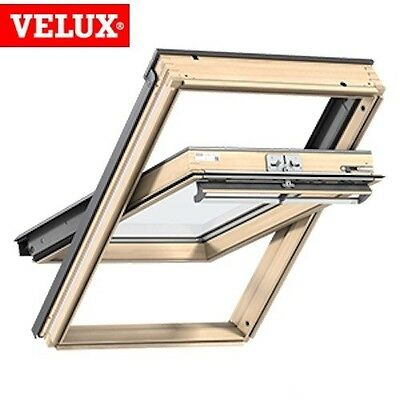 VELUX CK04 Pine Centre Pivot Roof Window Loft Skylight 55cm x 98cm GENUINE VELUX