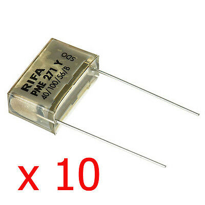 pack Of 5 Evox Rifa Pme271y547m Capacitor 47nf Class Y2