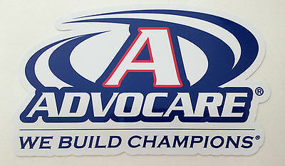 "AdvoCare Sticker 4"" Wide Contour Cut Printed 2302"