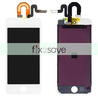 White LCD Display Touch Screen Digitizer Front Assembly For iPod Touch 5 5th Gen
