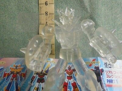Mechander Trasparente Gashapon Action Figure  Robot Anime