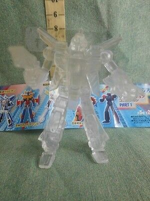 Robot Trasparente Gashapon Action Figure  Robot Anime