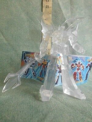 Gotriniton Ghosogun Trasparente Gashapon Action Figure  Robot Anime