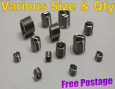Helicoil Helicoils Thread Repair Inserts Wire Tap Thread Sizes M5 M6 M8 M10 M12