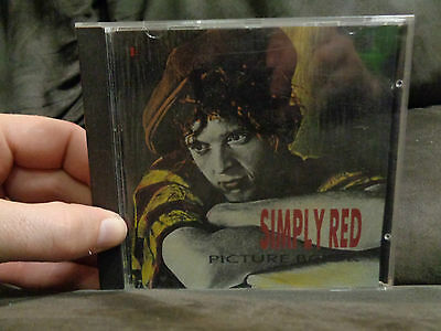 SIMPLY RED_Picture Book_used CD_ships from AUSTRALIA_A20