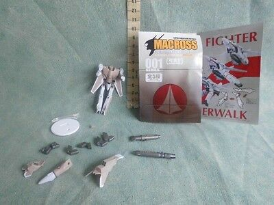 Macross Fighter Gashapon Action Figure  Robot Anime