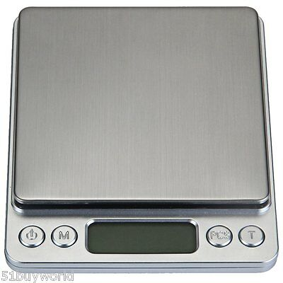 500g / 0.01g LCD Electronic Digital Scale Kitchen Weigh Scale Весы электронные