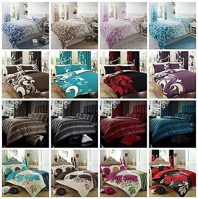 4 pc complete duvet set. Sizes- Single, Double and King