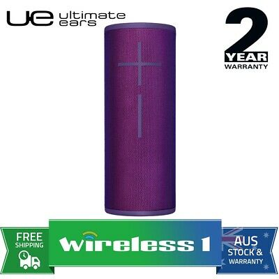 UE Ultimate Ears MEGABOOM 3 Wireless Bluetooth Speakers Ultraviolet Purple