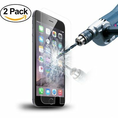 X2 Premium Tempered Glass Film Screen Protector Cover for  iPhone 5S SE 5C