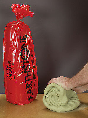 Extra Smooth White Clay ES10 Ceramics Pottery Sculpture 25kg (2 bags)