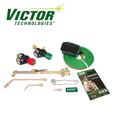 0384-2046 Victor Performer Torch Kit Set With Regulators ESS3 EDGE CA1350 100FC