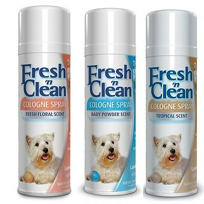 Scented Colognes for Pets 12 oz Keep Your Dog Smelling Fresh 3 Scents To Choose
