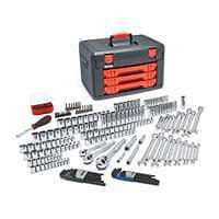 219 Piece Master Tool Set With Drawer Style Carry Case
