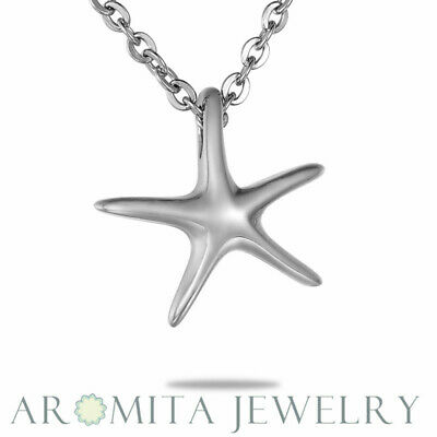 New Star Fish Cremation Jewelry Pendant Keepsake Memorial Urn Necklace