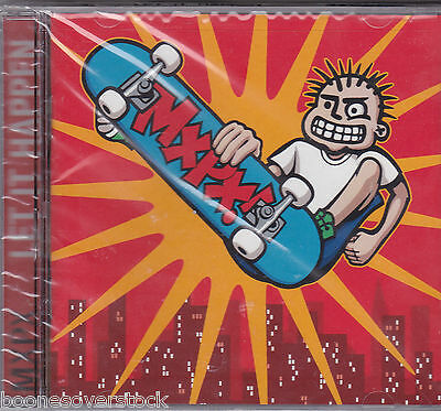 MXPX - LET IT HAPPEN (*NEW-CD, 1998, Tooth & Nail) Classic Christian Punk!