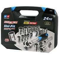 24 Piece Uni-Fit Socket Set