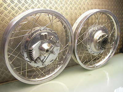 Vorderrad Hinterrad Trommelbremse Top! Front+Rear Drum Brake Wheel Xs 650 Sr 500