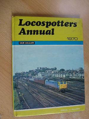 Locospotters Annual 1970, Published Ian Allan 1970