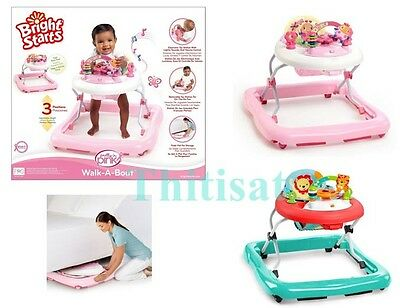Baby Activity Walker Toddler Infant Learn to Walk Toy Station Sound Play Jumper