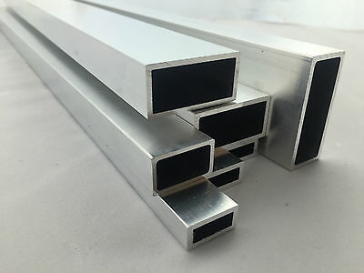 Aluminium Rectangular Tube Various Sizes