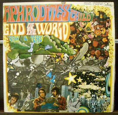 APHRODITE'S CHILD End of the world LP Vinyl VG / Cover VG W/NOISE SPAIN
