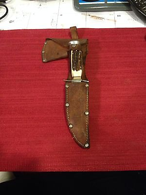 Vintage Germany Combo Set of Knife Axe Very Rare With Case