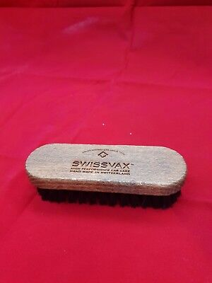 Swissvax Professional Leather Cleaning Brush For Car Interiors