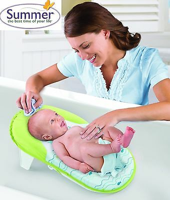 Travel/Portable Folding Baby Bath Support/Chair/Seat/Cradle/Hammock