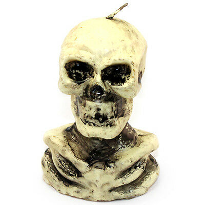 Hallowmas Skull Candle Silicone Mold Soap Craft Clay DIY Decorating Tools Cake