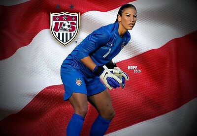 HOPE SOLO TEAM USA Photo Quality Poster - Choose a Size!  #04