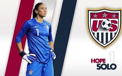 HOPE SOLO TEAM USA Photo Quality Poster - Choose a Size!  #07