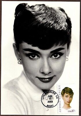 2003 AUDREY HEPBURN Hollywood Movies Classico PC FDC #2