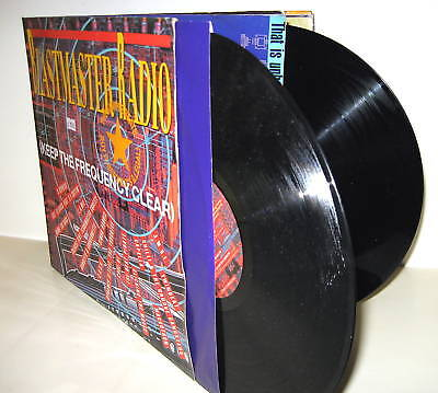 BLASTMASTER RADIO (Keep The Frequency Clear) GER 1988 2 x LP Vinyl