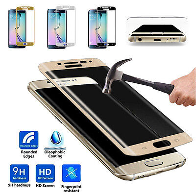 Full Curved Tempered Glass Screen Protector For Samsung S6 Edge / S6 Edge Plus