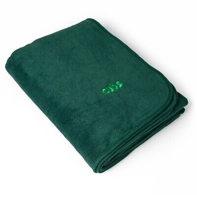 Cub Blanket For Camping Or Bedding Official Cubs Uniform Green New
