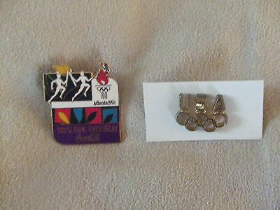 OLYMPIC'S PINS LOT #91 QUANITY OF 2 VINTAGE PINS