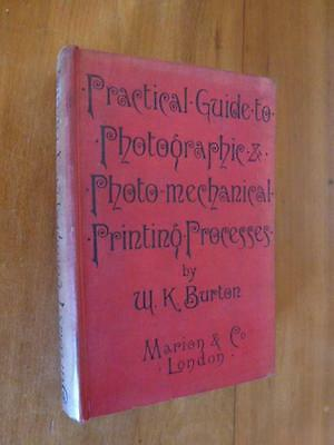 Practical Guide to Photographic Photo-mechanical Printing Process. 1892
